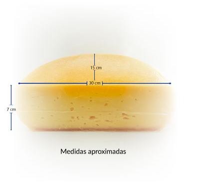 Queijo Raclette - 30cm - 2kg